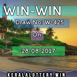 WIN-WIN LOTTERY NO. W-425th DRAW held on 28/08/2017
