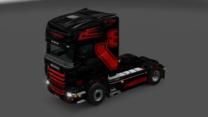V8 Logistic Skin for Scania RJL