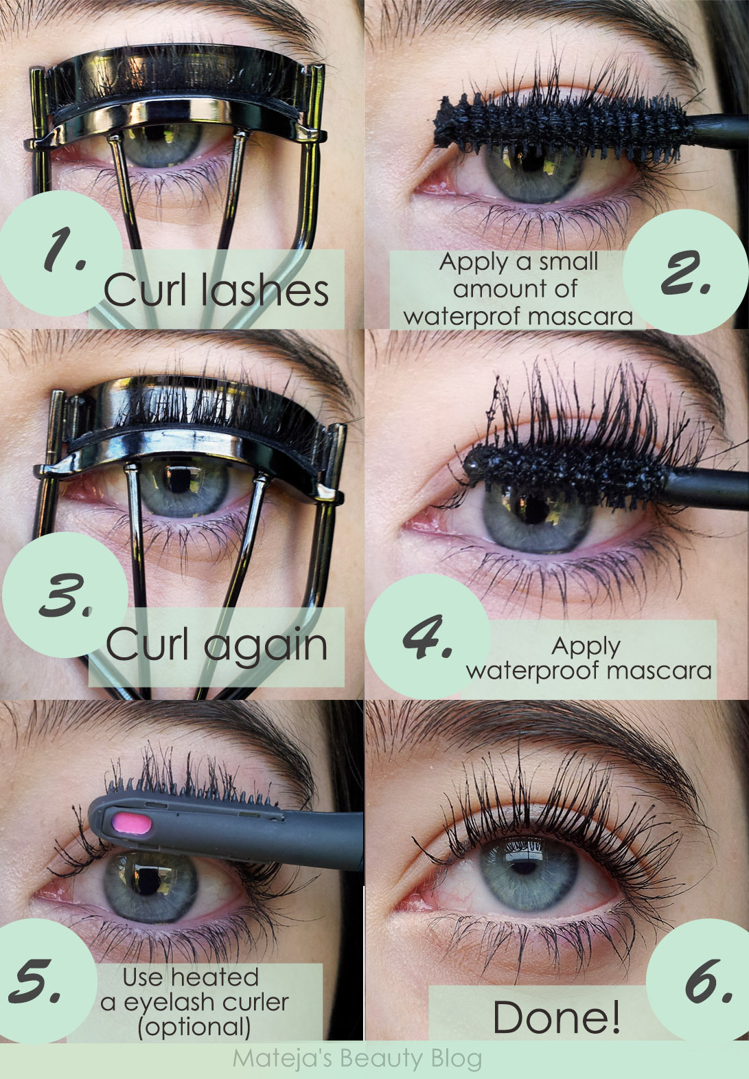 How To Curl Stubborn And Difficult To Curl Lashes Mateja