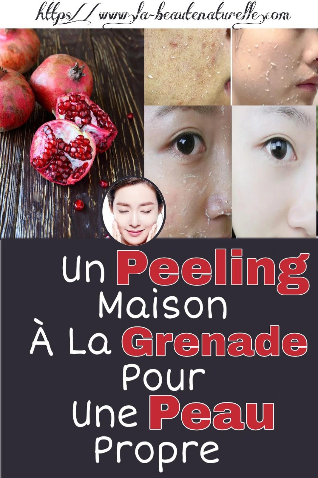 Un Peeling Maison À La Grenade Pour Une Peau Propre