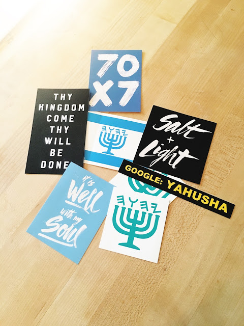 Hebrew Stickers | Land of Honey