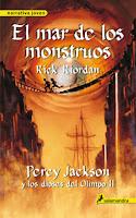 Crónicas Del Campamento Mestizo. Percy Jackson Y Los Dioses Del Olimpo II: El Mar De Los Monstruos, de Rick Riordan