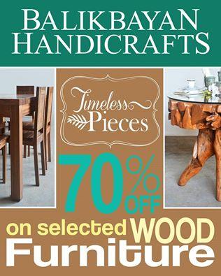 Manila Shopper Balikbayan Handicrafts Wooden Furniture Sale Til