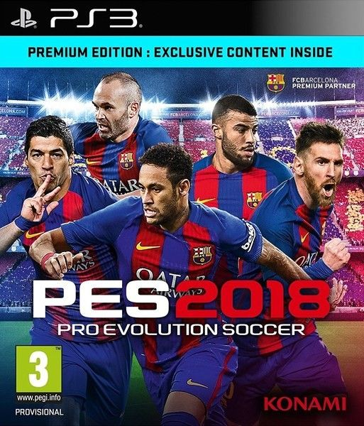 Pro Evolution Soccer 2018 PS3-DUPLEX