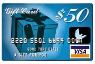 save - 15 Visa Gift Card
