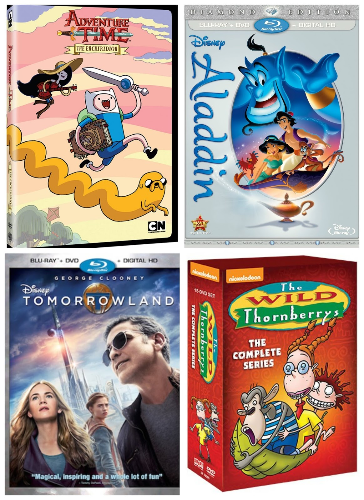 New Kid S Releases On Bluray Amp Dvd This Month October