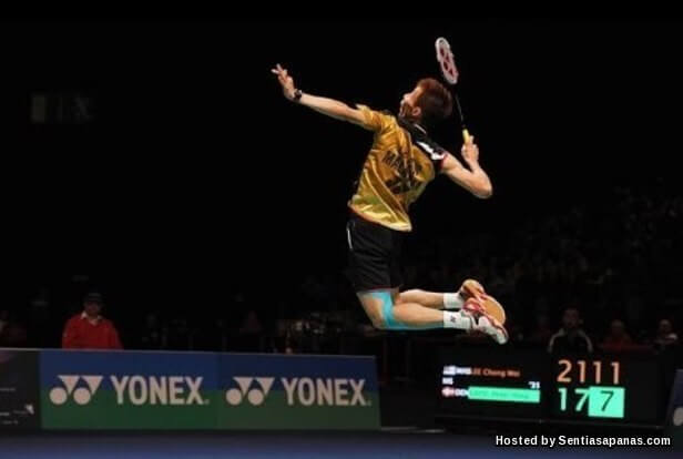 Smash lee chong wei