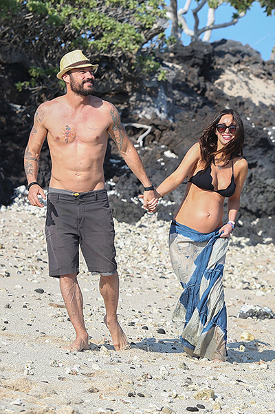Brian Austin green and Megan Fox 2