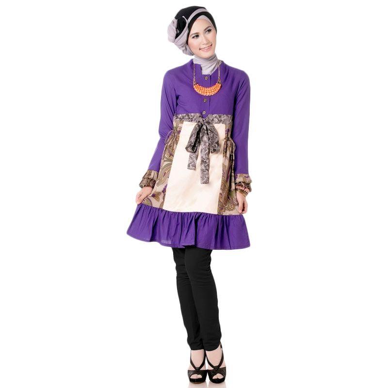 baju muslim pesta wanita modern