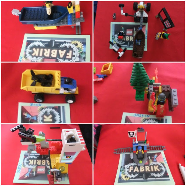 Legoparty wer baut am besten?