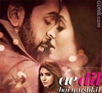 Ae Dil Hai Mushkil Title Song - Ranbir Kapoor, Aishwarya Rai And Anushka Sharma