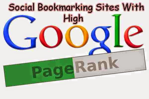 Top High PR Dofollow Social Bookmarking Sites