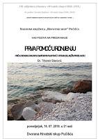 Tihomir Eterović, dr. med., predavanje Prva pomoć u ronjenju - Pučišća slike otok Brač Online