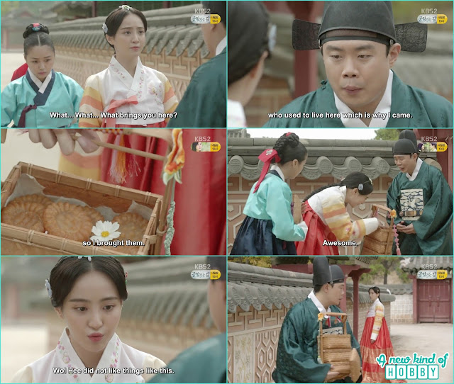 officer jang bought the cookies for the princess  - Love In The Moonlight - Episode 12 Review