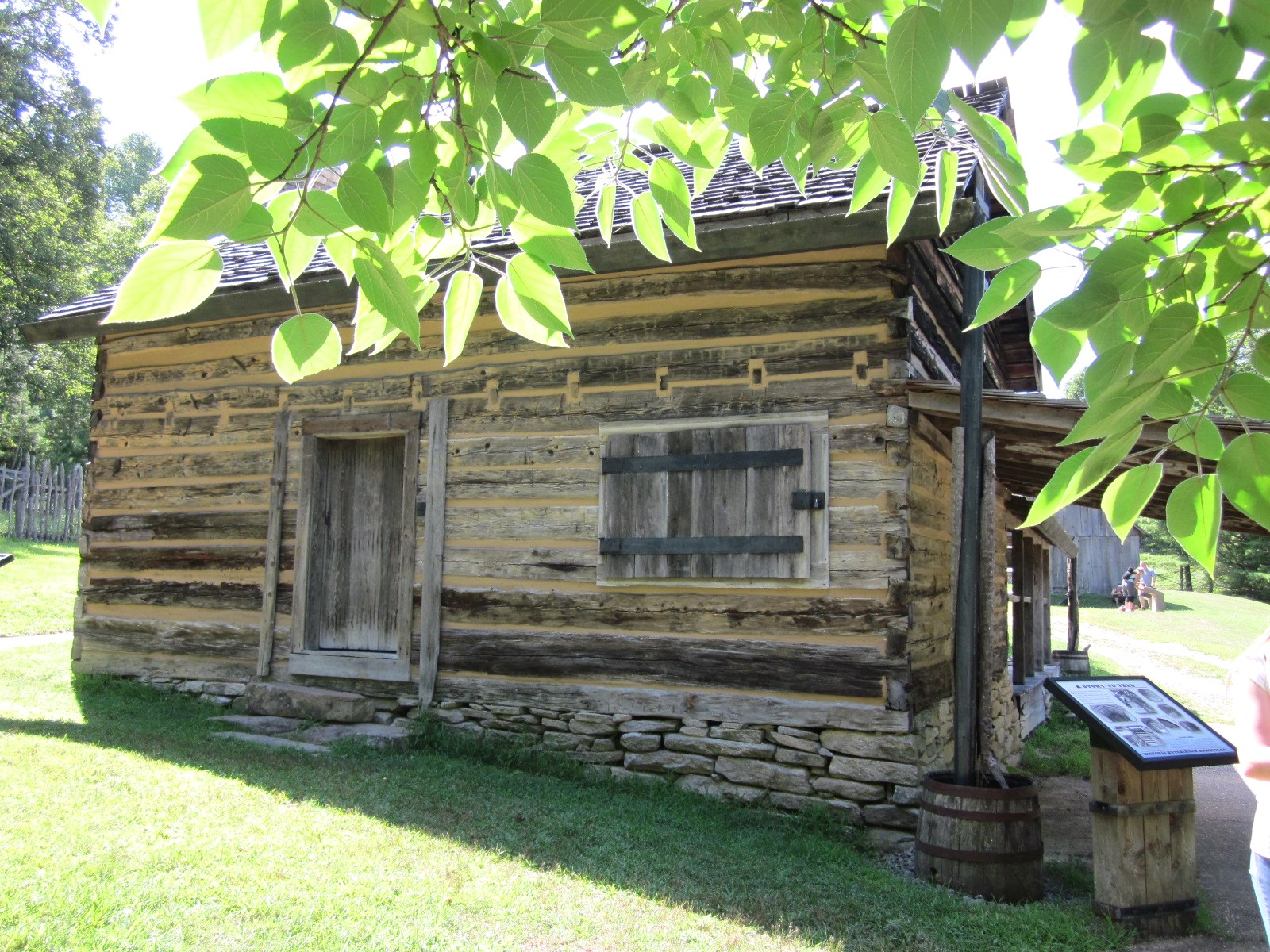 Homestead Along The Loop Trail At Stone Mountain State Park © Katrena
