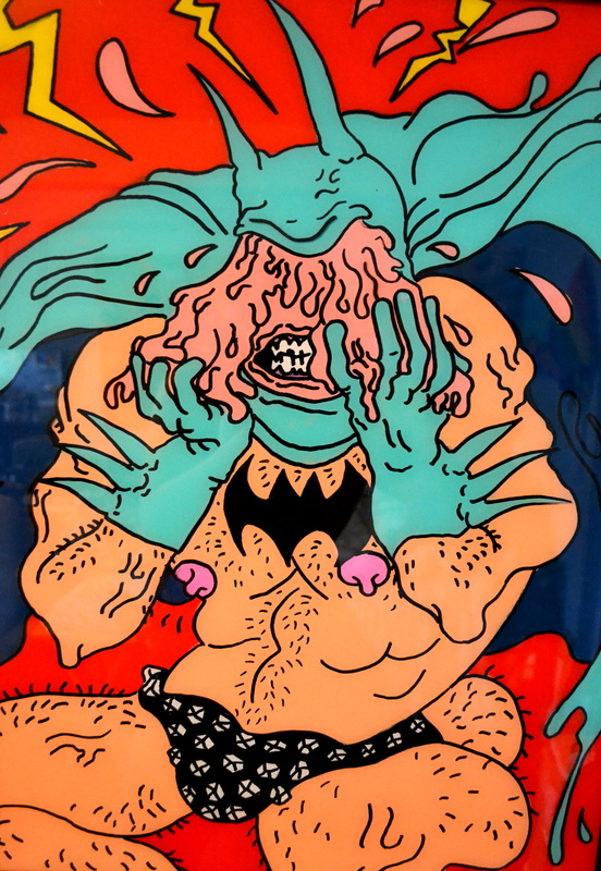 Pink Batman by Tina Lugo