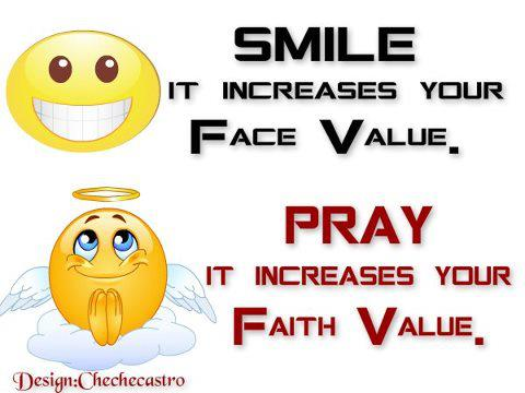 Smile! It Increases Your Face Value!
