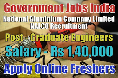 NALCO Recruitment 2018