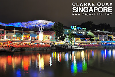 Clarke Quay, Long Exposure, Singapore, Night, Nightscape, Shoot