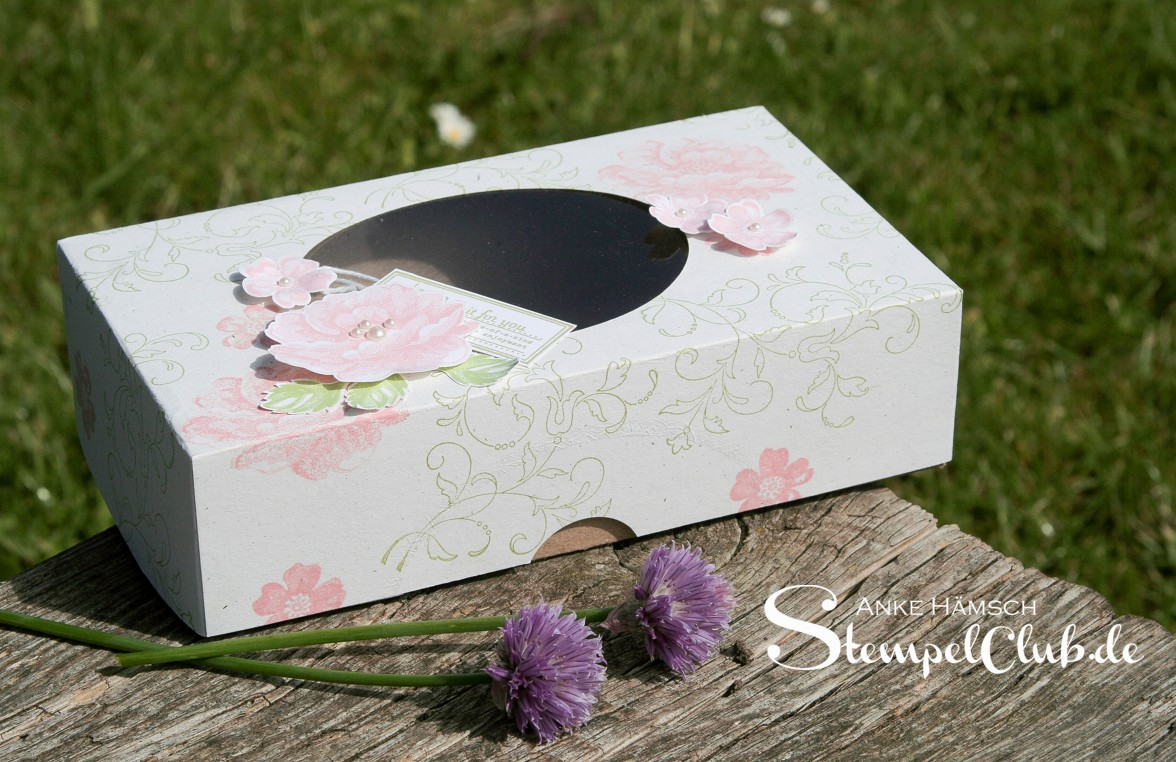 Verpackung, Stampin up, Stempelclub, Simply Scored, Falzbrett, Hochzeit