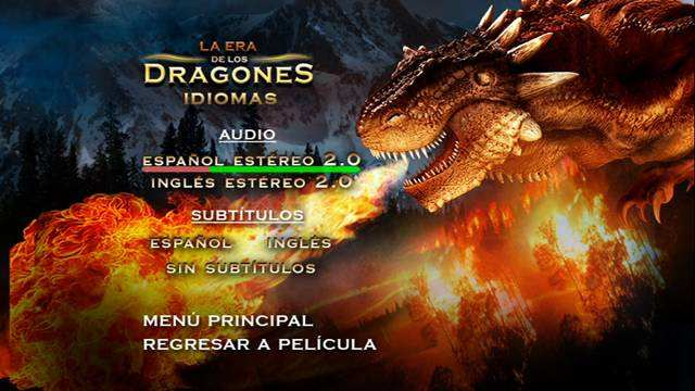 La Era de los Dragones [Age Of the Dragons] 2011 DVDR Menu Full Español Latin