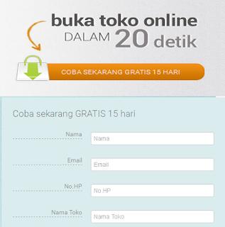 Coba Gratis Membuat Toko Online