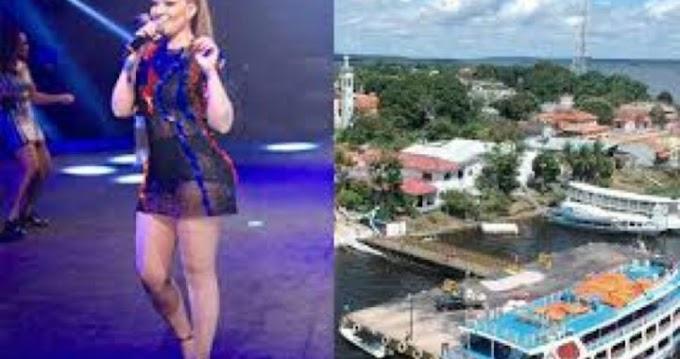 O SHOW PODE PARAR: MP quer saber porque a cidade em petição de miséria contrata cantora por R$ 150 mil