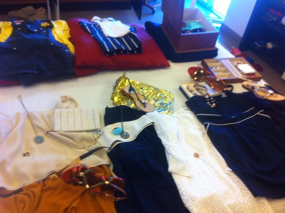 Faby à pois  Come preparare la valigia. Vacanze al mare! 7dcdaef1ea1