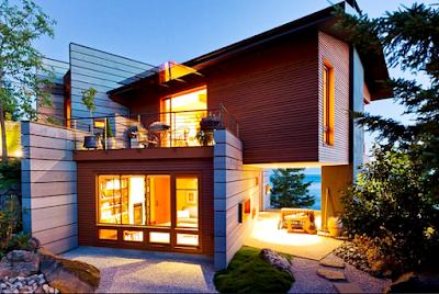 Contoh Rumah Minimalis Modern Hangat Di Tepi Pantai