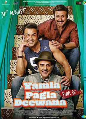 Yamla Pagla Deewana Phir Se 2018 Full Movie Download