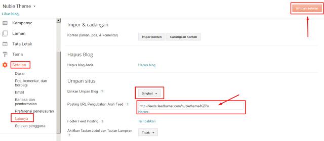 Cara Mendaftarkan Blog Pada Feedburner