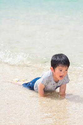 沖縄 ロケーションフォト 家族 海