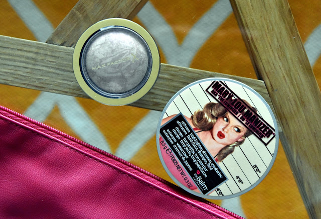 Max Factor Pastell Compact Blush & The Balm Mary Lou-Manizer Highlighter