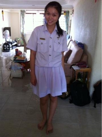 Sg schoolgirl hwa chong jc black panties - 2 part 9
