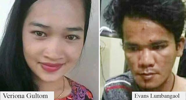 Terungkap, Evans Lumbangaol berasal dari Medan ternyata Pelaku Pembunuh Veriona Gultom