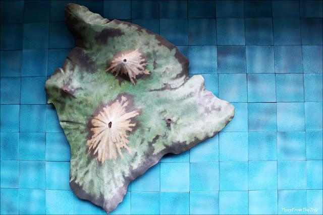 Big Island exhibit at Pu'uhonua O Honaunau
