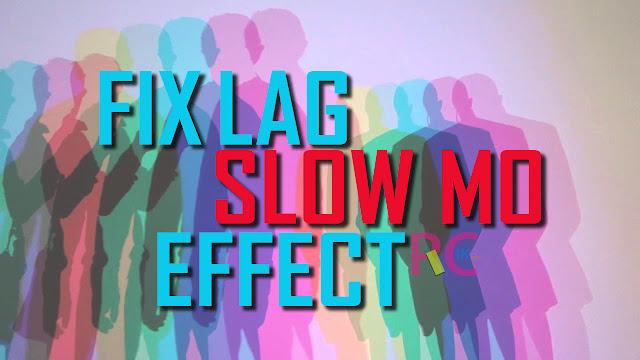 Cara Memperbaiki Hasil Video Lag, Efek Slow Motion Setelah Rendering Menggunakan Sony Vegas PRO 14