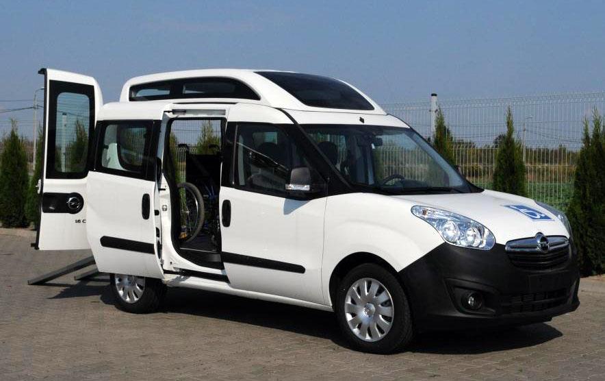 Najnowsze Samochody Dla Niepełnosprawnych: Opel Combo Tour L1H2 w ofercie CO65