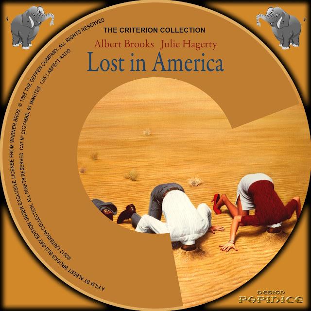 Lost In America Bluray Label