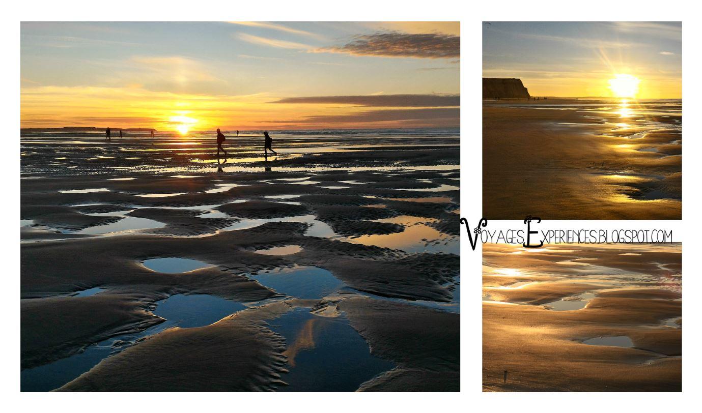 Voyages et exp riences le cap blanc nez sur la c te d - Les plus beaux coucher de soleil sur la mer ...