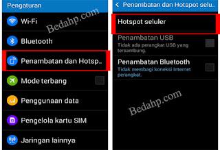 Cara Membuat HP Android Jadi Modem WIFI dan Hotspot