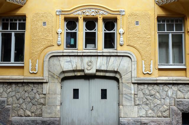 Hauseingang Helsinki Jugensti