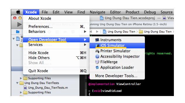 Iphone Simulator Xcode