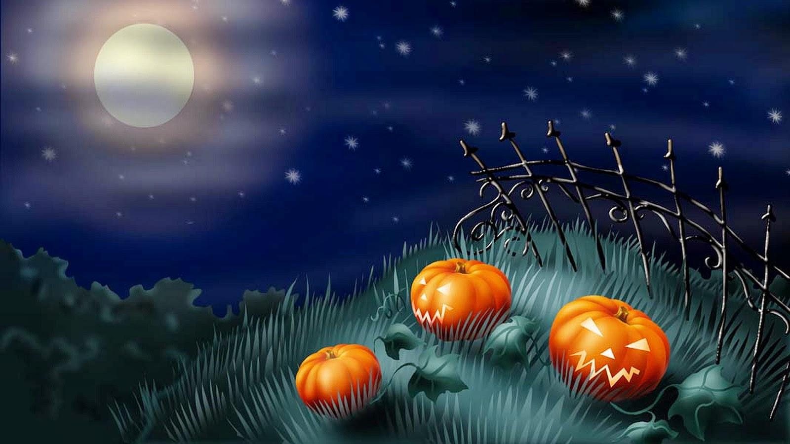 Hình nền Halloween cực đẹp cho máy tính 2013
