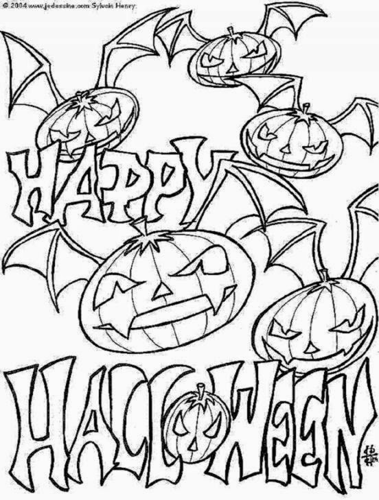 Free Halloween Coloring Pages 7 Coloring Book Pages Printable