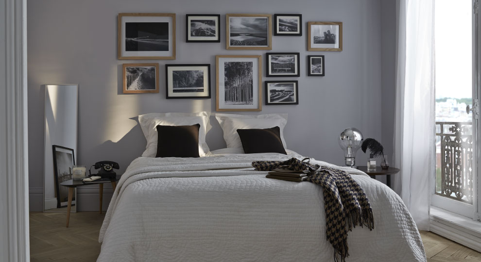 Peinture Chambre Gris Et Blanc ? Tristao.Me. Peindre Une Chambre