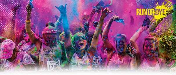 colourful run