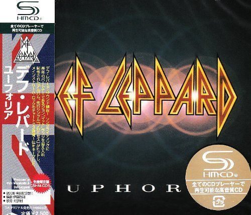 DEF LEPPARD - Euphoria [Japan SHM-CD +1] full