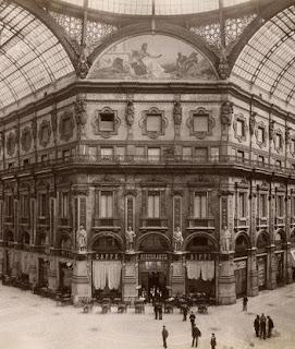 galleria vittorio emenuele milano ottagono mosaici lunette