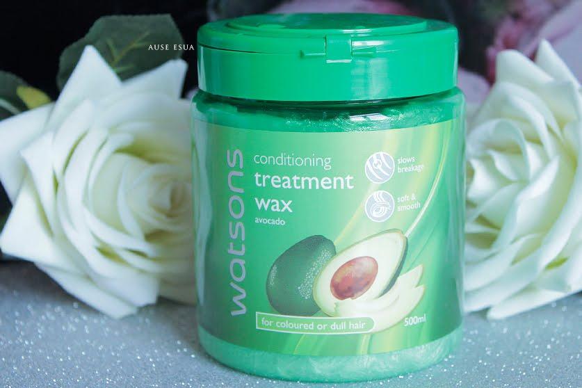 Watsons Conditioning Treatment Wax  │ Watsons Avokadolu Saç Kremi ♡ │ AUSE ESUA